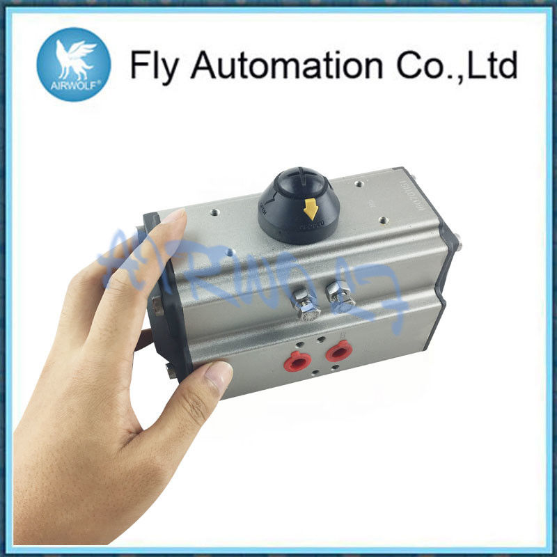 AT63 Silvery Pneumatic System Components Aluminum Pneumatic Pneumatic Control Valve