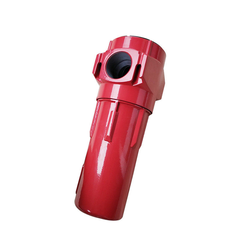 Red Air Preparation Units Hepa Filter G058AO Welding High Strength 1.0m3 / Min Flow Rate
