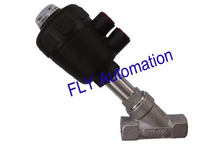 178606,178682 PA actuator Threaded Port 2/2 Way Angle Seat Valve